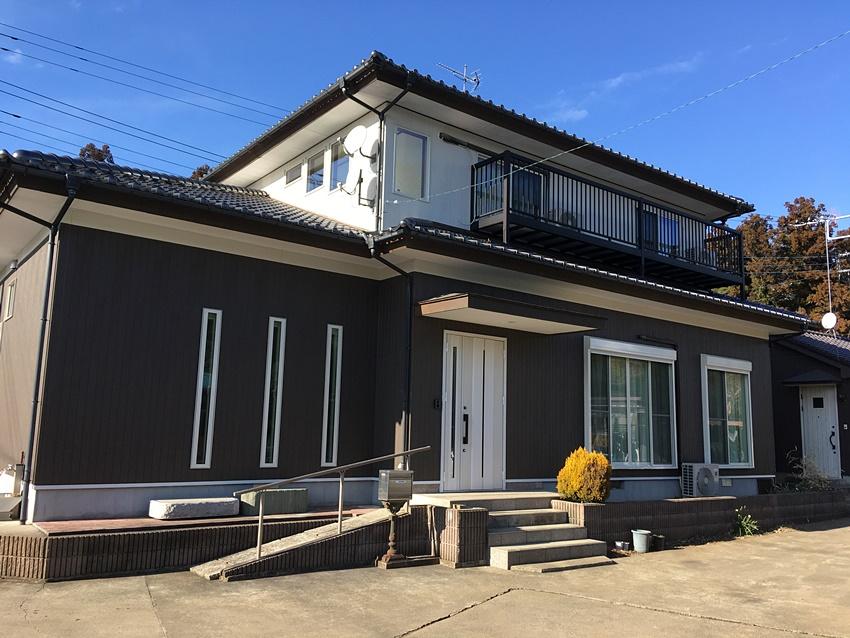 【2階建てリノベーション@龍ケ崎市】費用や間取り外観