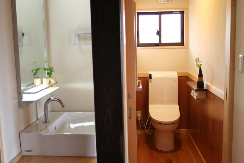 最新のトイレなど水回り