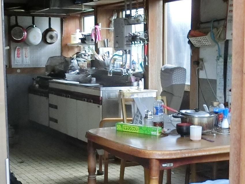 リノベーション前のキッチン