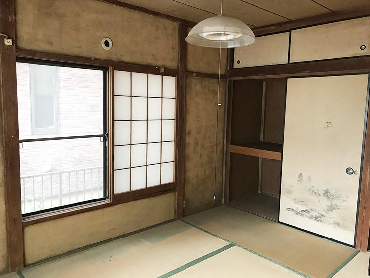 古い和室をリフォーム
